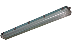 Vapor Proof and Vibration Resistant LED Light Fixture designed for Indoor and Outdoor Non Hazardous Locations