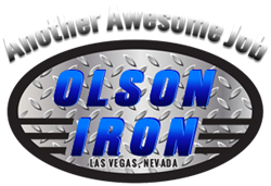 "Olson Iron ""Custom Wrought Iron Showroom"""