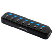 7-PORT USB 2.0 Hub and Stand-Alone USB Charging Station with AC Adapter