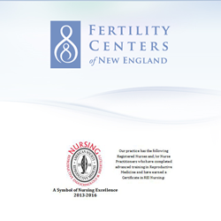 Fertility Centers of New England Recognized for Nursing Excellence
