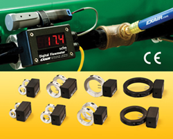 EXAIR's expanded line of Digital Flowmeters