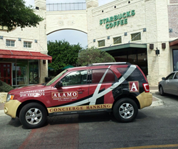 "The branded ""Alamobile"" used by the credit union's Concierge Banking staff provides on-demand service."