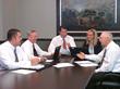 Members Commercial Lending Team: (L-R) Mike Ward, Loan Officer; Harold Newman, EVP AG/Commercial Lending; Thomas Carley, Senior Lending Officer; Angie Fears, AVP Lending; Harry Hutchison, President