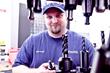 AJAC machinist apprentice graduate, Brad Duncil