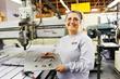 AJAC aerospace machinist apprentice graduate, Miley Molstad