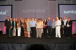 SumTotal Innovation Award Winners take the stage at the 2013 TotalConnection. Nominations for the 2014 award are currently being accepted on the TotalConnection website.