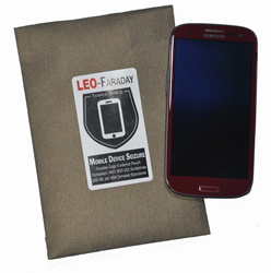 LEO-Faraday cell phone evidence bags give police NSA-grade signal blocking. Bags are available in sizes for phones, tablets, and laptops.