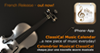 'ClassiCal Music Calendar' - Campaign motif - French Release - all rights reserved by andante media & fotolia.com 2013-2014!