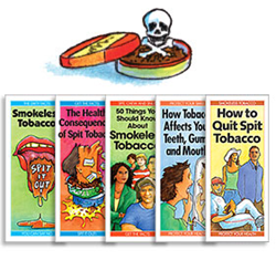 smokeless tobacco prevention pamphlets
