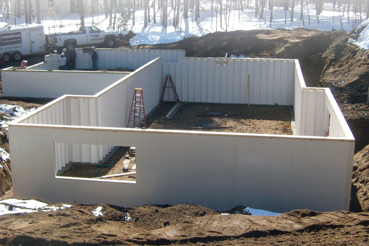 Industry changing high performance alternative to for Poured concrete basement walls