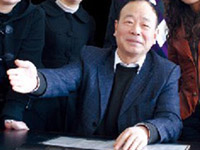 Pan Hongjun, chairman of the board in Jiangsu Sanling Abrasive Co., Ltd.