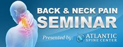 Free Back and Neck Pain Seminars