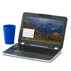 The Rugged Drop and Water Resistant CTL Education Chromebook with Securly Internet Security for CIPA Compliance