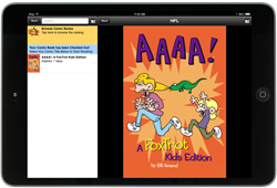 Screenshot of the Comics Plus: Library Edition Integration, as viewed in a Boopsie Library App