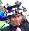 A 3D Printed Head Gear Represents the Novelty of 360° Video...