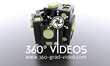 3d visualisation of 360 video rig