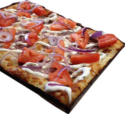 Detroit Style Pizza Company's New Mediterranean Gyro Pizza