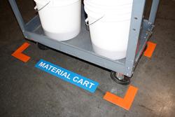 materials corner markers