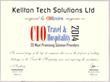 CIO Review Certificate