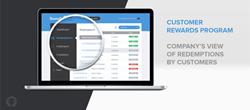 RewardCo customer rewards program - List of customers redemptions