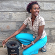 Susan Kamau, Kenya's most beloved television chef, promotes safe cooking methods as regional culinary ambassador for the Global Alliance of Clean Cook Stoves.