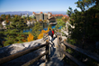 85 miles of hiking trails offer spectacular views of Lake Mohonk and the Catskill Mountains.