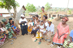 Community health workers trained by BRAC
