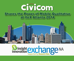 Civicom Marketing Research IIEX Atlanta