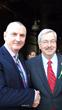 Iowa Governor Terry Branstad Networks with Small Business Owners at...