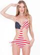 GoJane American Flag Monokini