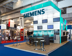 Trade Show Exhibit by Absolute Exhibits in Europe