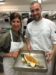 Chef Jodi and Chef Diaz