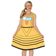 Transform your wardrobe and show that you are a loyal friend with this new Transformers by Her Universe Bumblebee dress!