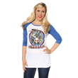 DINOBOTS, yes, we all love the Dinobots! Show your love for these retro characters with this figure flattering raglan top from the new Transformers by Her Universe line.