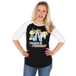 Retro Transformers cartoons and toys provide us all with fond memories and we created this raglan to celebrate one of our favorite classic shows - Transformers!