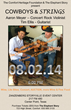 "The Comfort Heritage Foundation & The Elephant Story Present ""Cowboys & Strings"" Featuring Concert Rock Violinist Aaron Meyer And Guitarist Tim Ellis"