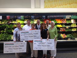 Harris Teeter donates $45,000 to food banks in Hampton Roads.