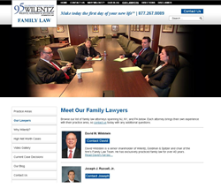 New Family Law Website