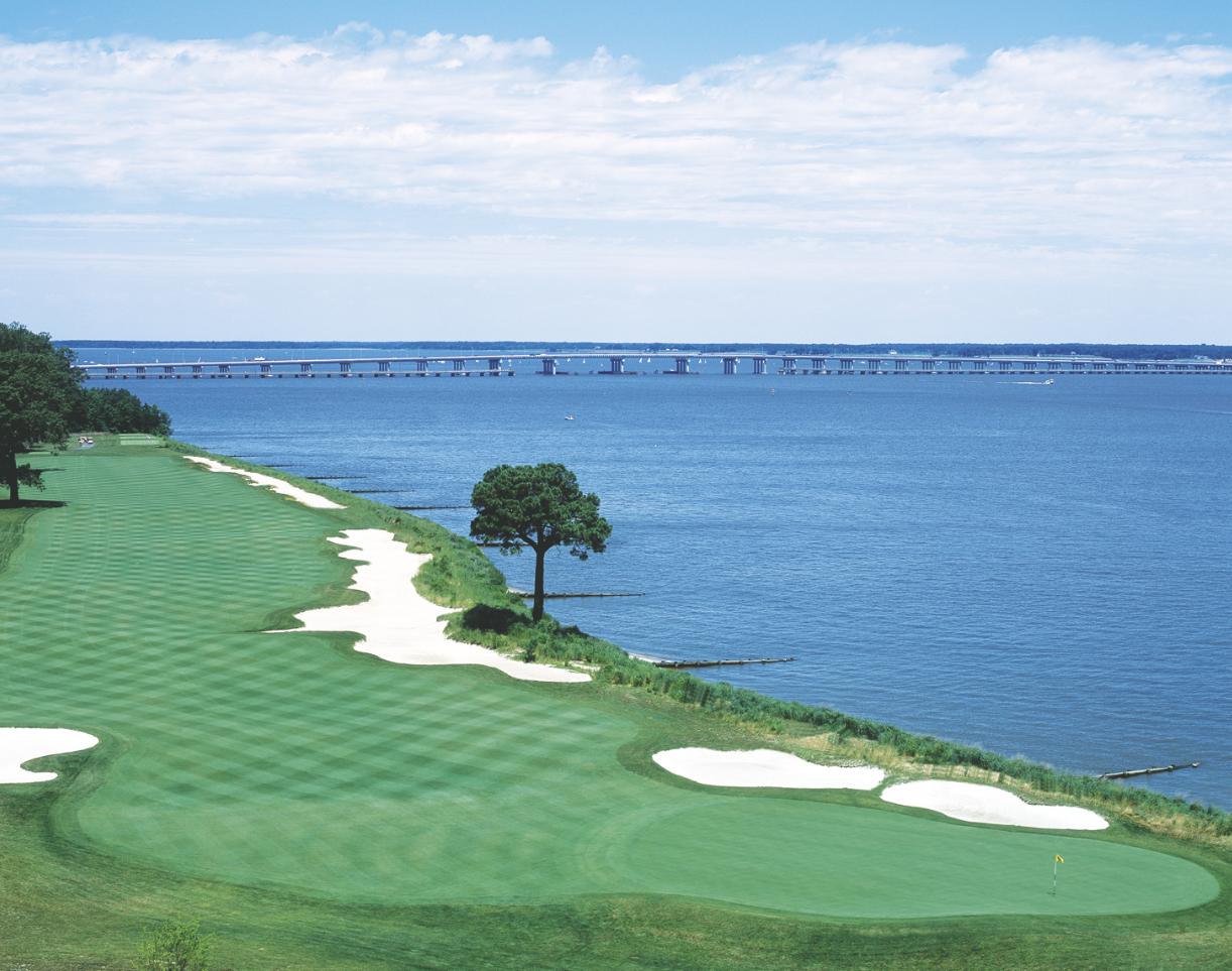hyatt regency chesapeake bay resort makes golf a family. Black Bedroom Furniture Sets. Home Design Ideas