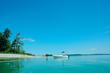A beach at Power Island