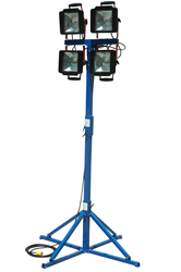 Portable Work Light capable of illuminating 14,500 square feet of work space