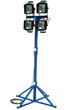 Larson Electronics Reveals a New 3,000 Watt Portable Quadpod Mounted Work Area Flood Light