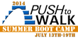 Push to Walk to Host its 3rd Annual Summer Boot Camp