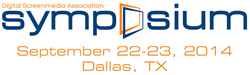 The DSA Symposium will take place in Dallas, TX on September 22-23