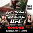 Watch UFC 175 World Middleweight Championship Live at the Condor Club...