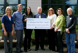 Check Presentation from MHRV Show Association & WSECU to Washington State Parks