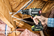 Rockwell 20V Brushless Drill-Driver goes to work in attic rafters