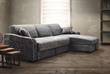 Brand Sectional Sleeper Sofa With Chaise From Zuo Modern 98211