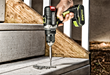 Rockwell 20V Brushless Drill-Driver is great for building decks and steps