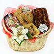 Sweet Basket - gourmet gift basked by UK gifts shop. UK gift shopping online. Same day flowers delivery UK and flowers UK next day.
